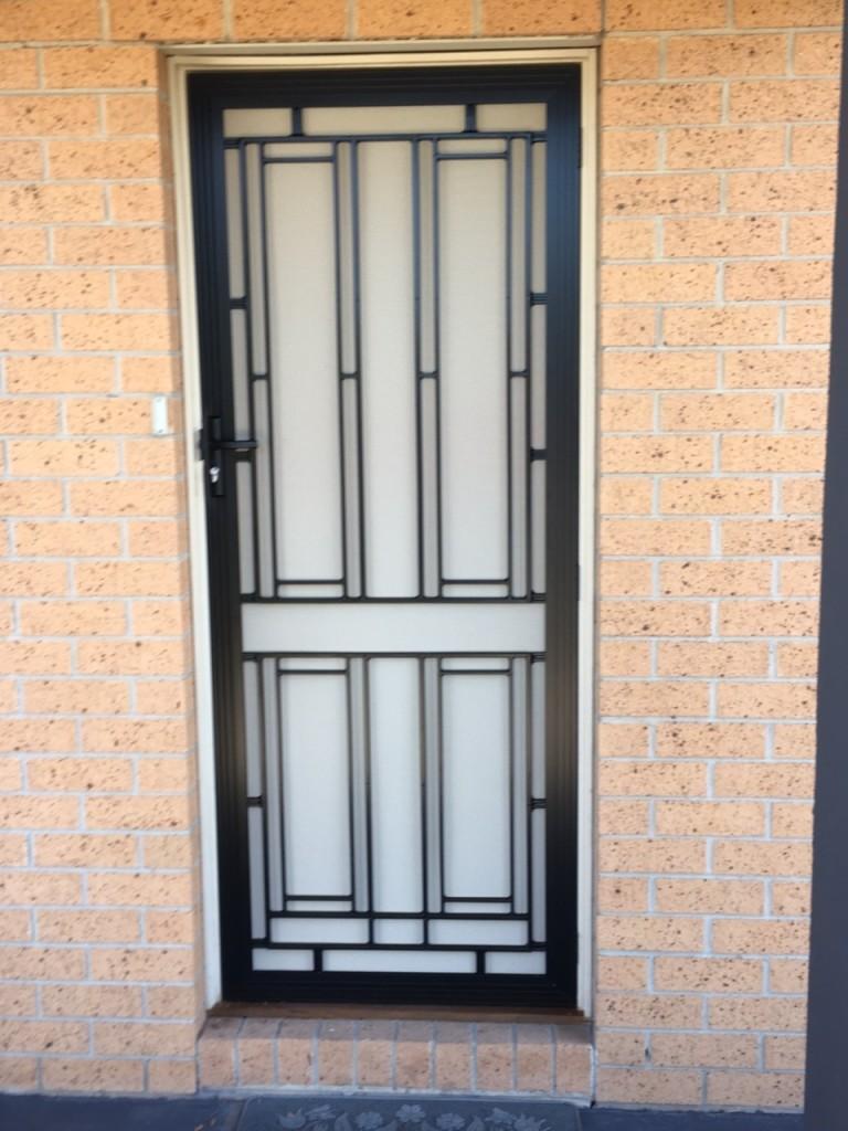 Security doors frankston mornington peninsula moorabbin for Door 4 security